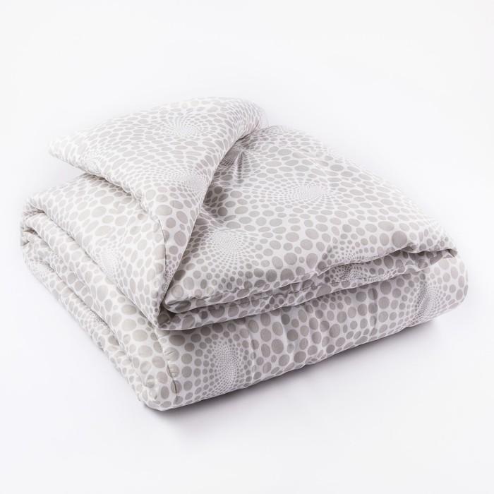 Одеяло всесезонное, размер 140х205 см, цвет МИКС, синтепон