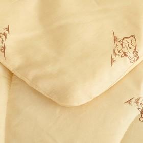 Одеяло Овечья шерсть 172x205 см, полиэфирное волокно 200 гр/м, пэ 100% - фото 62310