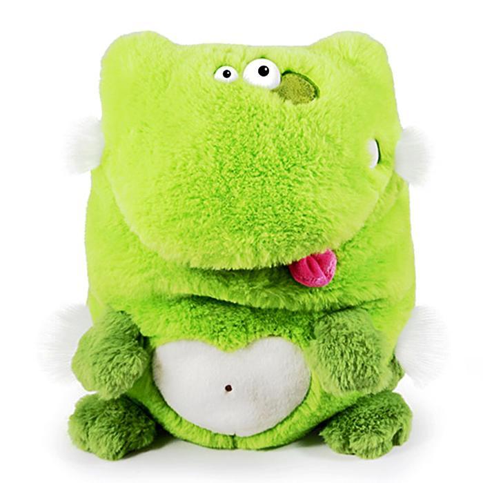 Мягкая игрушка «Лягушка. Кармашки», 21 см