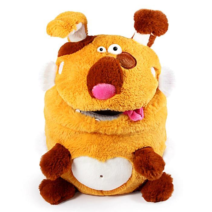 Мягкая игрушка «Пёс. Кармашки», 21 см