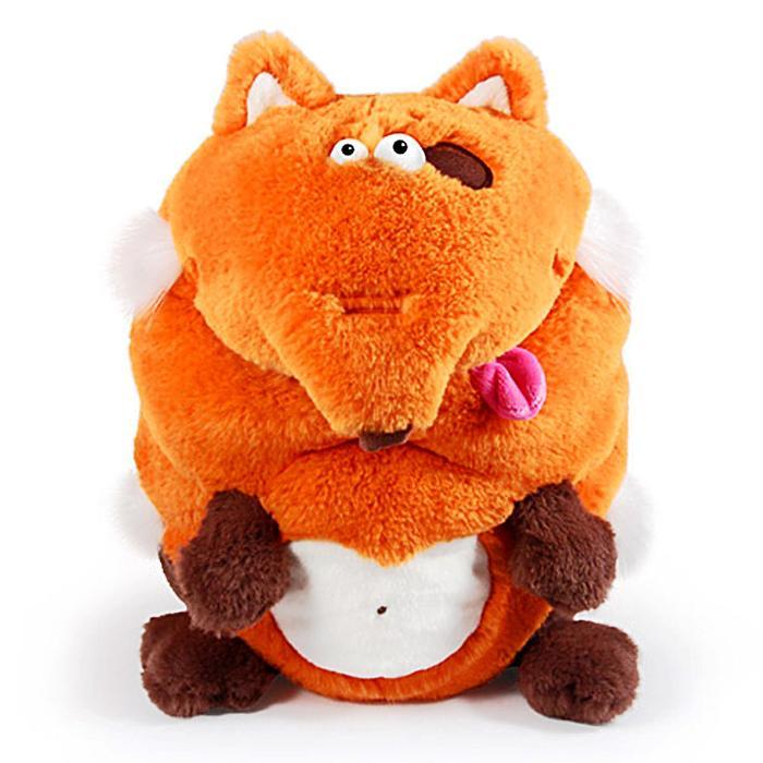 Мягкая игрушка «Лиса. Кармашки», 21 см