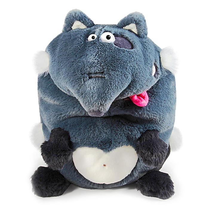 Мягкая игрушка «Волк. Кармашки», 21 см