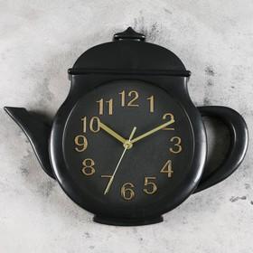 """Часы настенные, серия: Кухня, """"Заварник"""" 31х38х4 см, дискретный ход"""