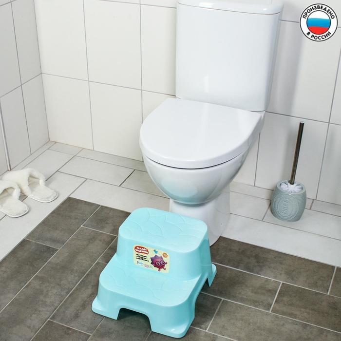 Подставка детская пластиковая GUARDIAN «Малышарики», цвет бирюзовый