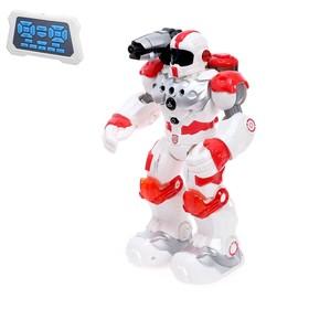 Робот радиоуправляемый, интерактивный «Огнеборец», стреляет водой, работает от аккумулятора