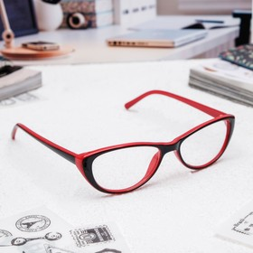 Glasses corrective FM 505 C3 RC58-60, color black and red, +1