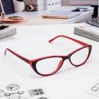 Очки корригирующие FM 505 C3 РЦ58-60, цвет чёрно-красный, -2,5