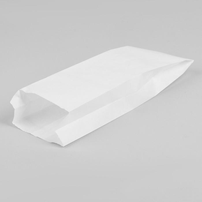 Пакет бумажный фасовочный, белый, V-образное дно 30 х 10 х 5 см, набор 2200 шт.