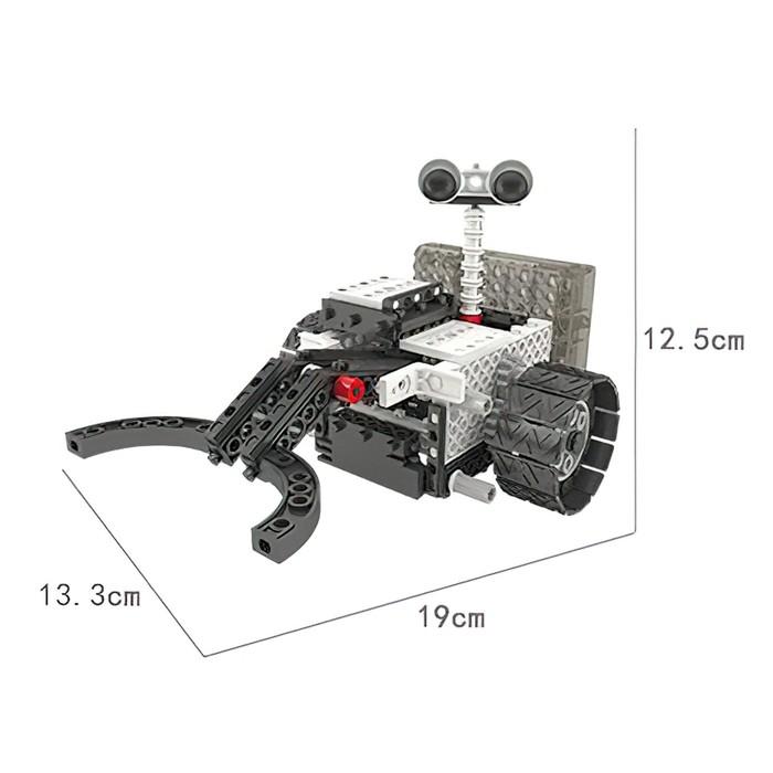 Конструктор радиоуправляемый «Робот-разведчик», 4 в 1, 254 детали - фото 538095276