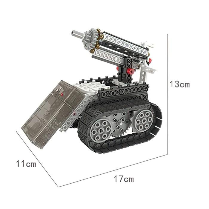 Конструктор радиоуправляемый «Робот-разведчик», 4 в 1, 254 детали - фото 538095277
