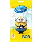 Влажные салфетки Smile Minions , 15 шт. в упак. МИКС