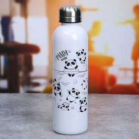 """Бутылка для воды """"Панда"""", 700 мл"""