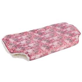 Муфта для рук на детскую коляску «Волшебный клубок», цвет розовый Ош