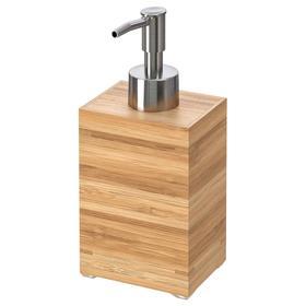 Дозатор для жидкого мыла ДРАГАН, бамбук, 350 мл Ош