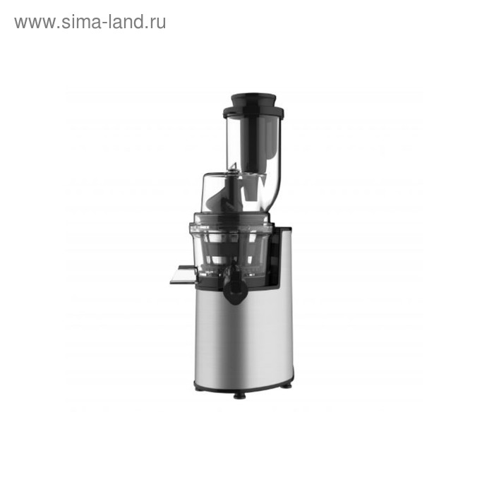 Соковыжималка Gemlux GL-SJ-207, шнековая, 200 Вт, 60 об/мин, серебристая