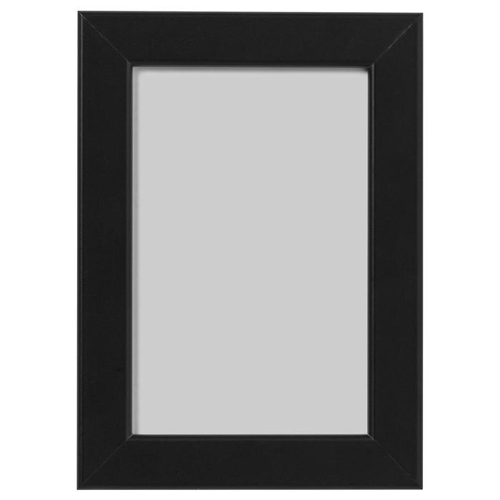 Рама ФИСКБУ, 10х15 см, черный