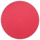 Салфетка под приборы ПАННО, 37 см, красный