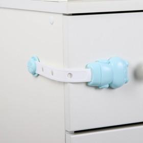 Блокиратор классический для двери, цвет МИКС Ош
