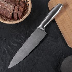 Нож 'Профи' лезвие 20,5 см, цельнометаллический Ош