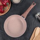 Сковорода кованая 20 см Line Premium, ручка soft-touch, индукция