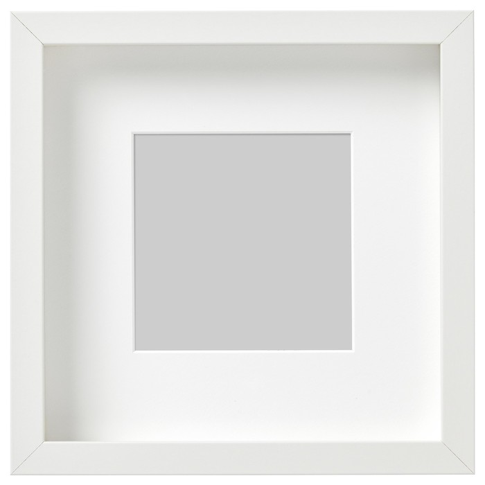 Рама РИББА, 23х23 см, белый