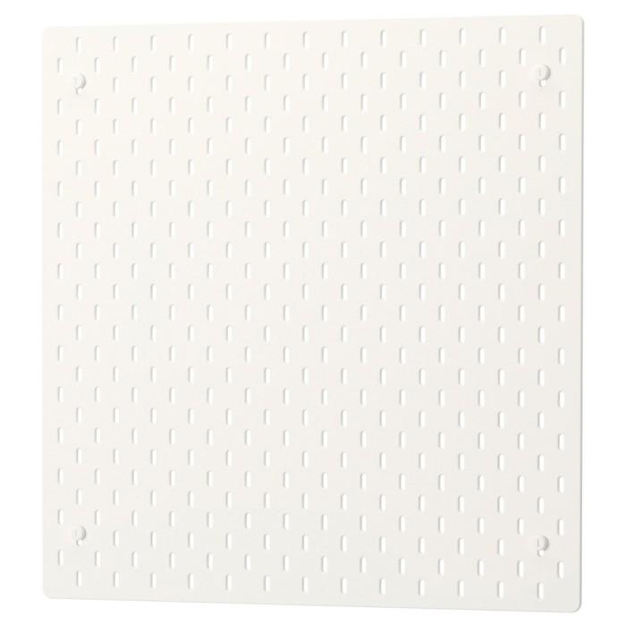 Настенная панель СКОДИС, 56x56 см, белый