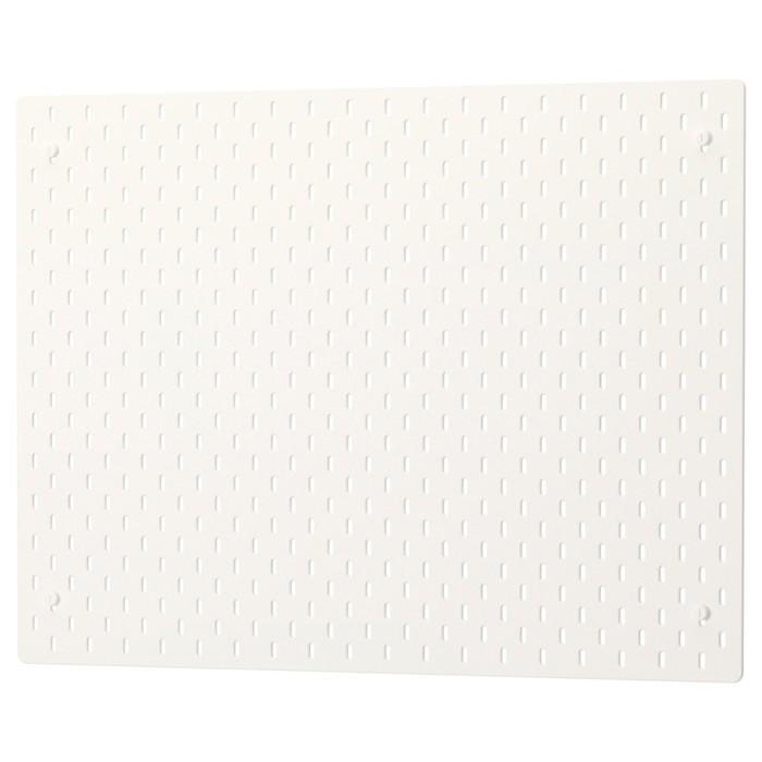 Настенная панель СКОДИС, 76x56 см, белый