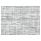 Салфетка под приборы СНУББИГ, 45x33 см, белый/черный