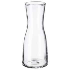 Ваза ТИДВАТТЕН, 15 см, прозрачное стекло