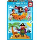 Пазлы «Пираты», 2х20 деталей