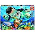 Пазл «Подводное селфи», 500 деталей