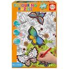 Пазл-раскраска «Бабочки», 300 деталей