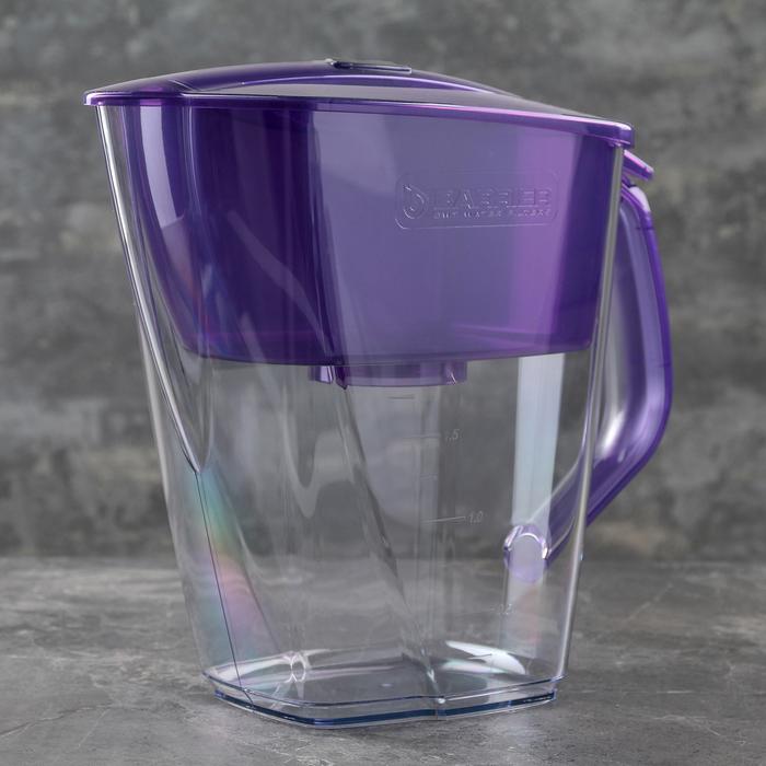 """Фильтр-кувшин 4,2 л """"Барьер-Гранд Neo"""", цвет фиолетовый"""