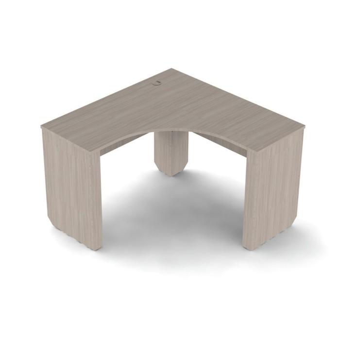 """Детская """"Патимейкер"""", стол угловой (13.04), цвет ЛДСП ясень шимо светлый/ясень шимо темный"""