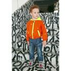 """Ветровка для мальчика MINAKU """"Мишка"""", рост 116-122 см, цвет оранжевый"""