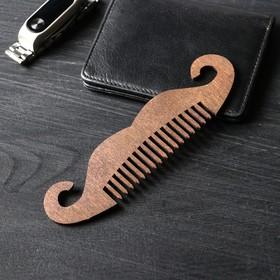 Расческа деревянная 'Усы', тип 1 Ош