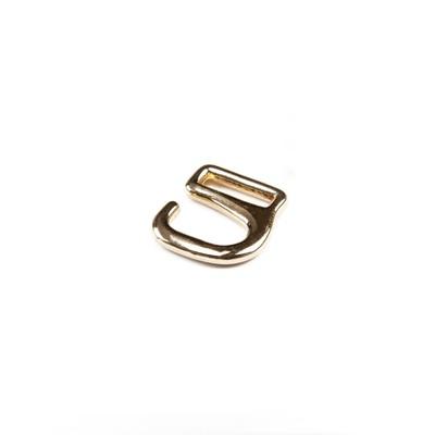 Крючки для босоножек, 8 мм, цвет золото