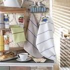 Набор полотенец махрово-вафельных Чериника 45х60 см, хлопок 100%, 360 гр/м2