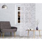 Штора тюль Amore 140х260 см, цв.серый, на шторной ленте, пэ 100%