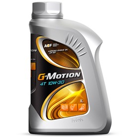 Масло моторное G-Motion 4T 10W-30, 1 л Ош