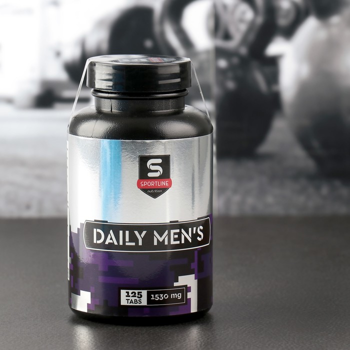 Витамины SportLine Daily Men's 125cap