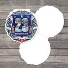 Открытка поздравительная «Поздравляем!», 12 × 12 см