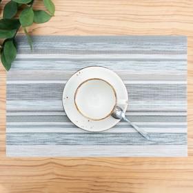 Салфетка кухонная «Дождь», 45×30 см, цвет сиреневый