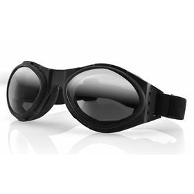 Очки Bugeye чёрные с зеркальными линзами Ош