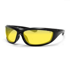 Очки Charger чёрные с жёлтыми линзами ANTIFOG ANSI Z87+