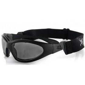 Очки GXR чёрные с дымчатыми линзами ANTIFOG