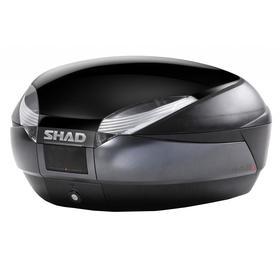 Кофр задний, SH48 темно-серый/черный, 48 л