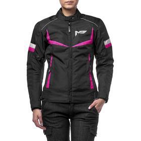 Куртка женская ASTRA черно-розовая, M
