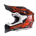 Шлем кроссовый 2Series MANALISHI чёрно-оранжевый, L