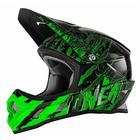 Шлем кроссовый 3Series MERCURY чёрно-зеленый, XL